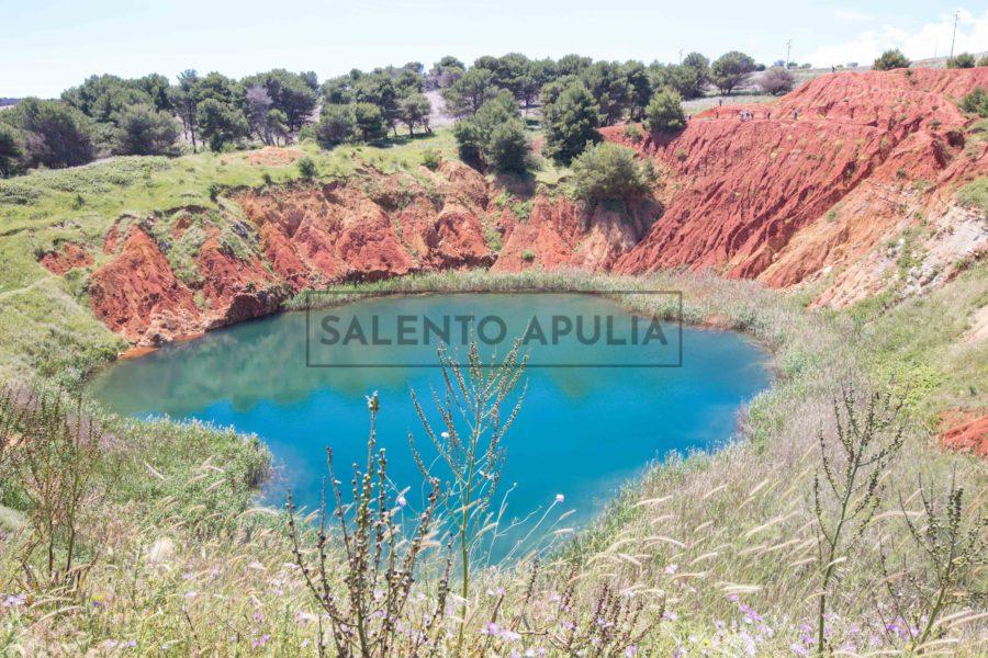Il laghetto rosso di Otranto – la cava di bauxite